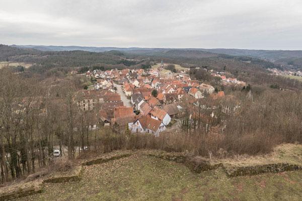 © Traudi - Blick auf den Ort Lichtenberg