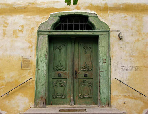 © Traudi  -  Kloster Heiligkreuztal, Tür zum ehem. Herren- und Gästehaus