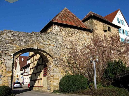 © Traudi - Das Grabentor wurde 1847 durchgebrochen und sollte der geplanten Stadterweiterung dienen.