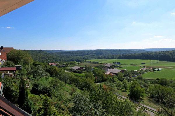 © Traudi - Aussicht ins Staufer-Ländle, ganz im Hintergrund der Hohenstaufen