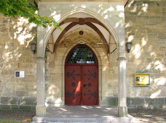 Kloster Denkendorf, Eingang zur Kirche - © Traudi