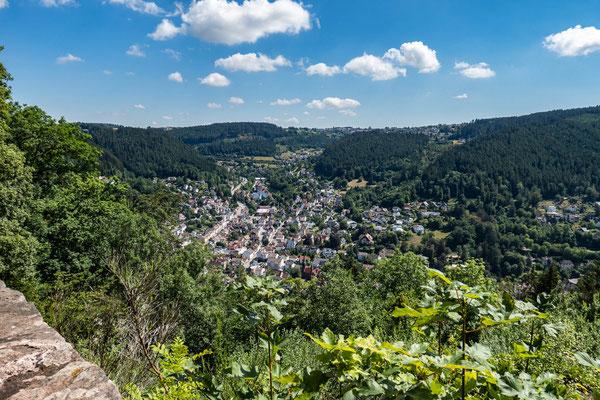 © Traudi - Blick auf die Fünftälerstadt Schramberg