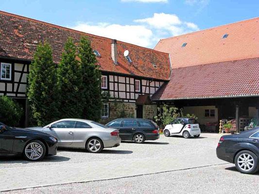 © Traudi – Burgruine Staufeneck, Burghof