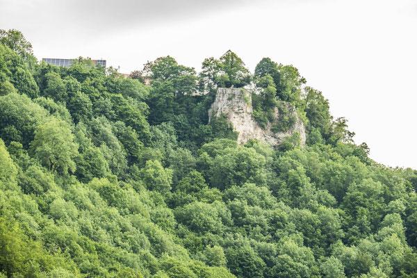 © Traudi - Wasserfels (714 m) von Gutenberg aus fotografiert