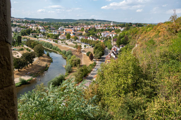 © Traudi - Blick nach Mühlacker und zum Fluss Enz