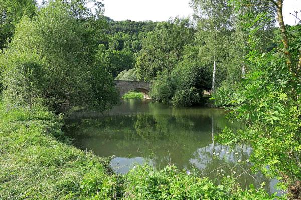 © Traudi  -  Steinbrücke über den Kocher