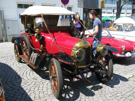 © Traudi - Philos 14M, Baujahr 1913, 50 km/h, 13 PS, gebaut in Frankreich, Otto-Motor