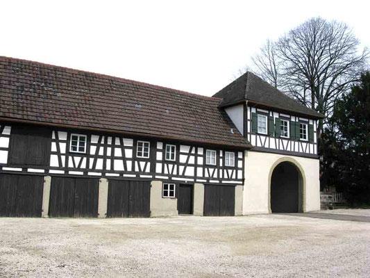 Foto 02.04.2010   Innenhof Unterres Schloss