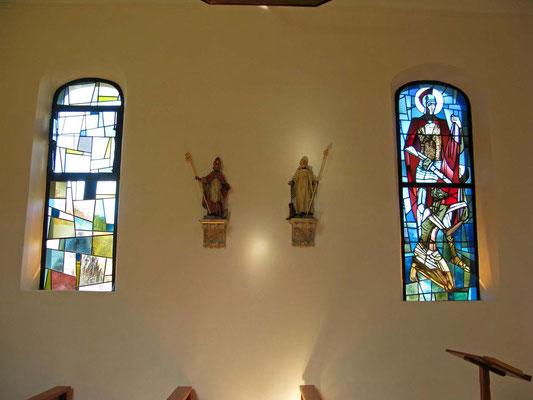 © Traudi - buntes Glasfenster St. Martin