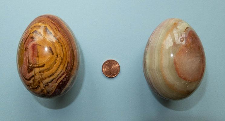 © Traudi - Diese Eier aus Sardonyx kaufte ich spontan in Spanien.