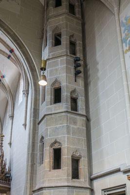 © Traudi - Aufgang im Chor
