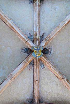 © Traudi - an der Decke im Durchgang zum Innenhof