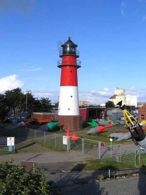 Büsum, Leuchtturm am Hafen