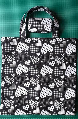 © Traudi - Februar 2020 - Tasche mit einer passenden TaTüTa