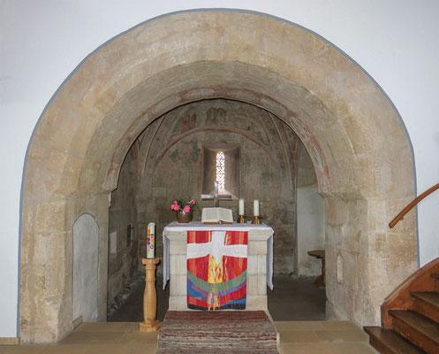 © Traudi - Altar mit dem Triumpfbogen. Altar mit dem Triumbogen