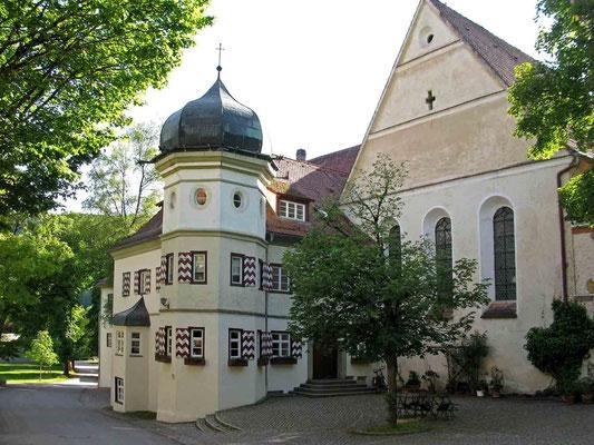 © Traudi - Abtei und Ostgiebel der Klosterkirche