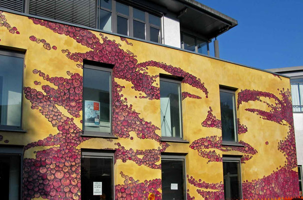 © Traudi  2015 - Rudersberg, Marylin Monroe-Fassade