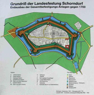 Burgschloss Schorndorf, Grundriss  -  © Traudi