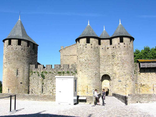 Carcassonne, Porte Narbonnaise – © Traudi