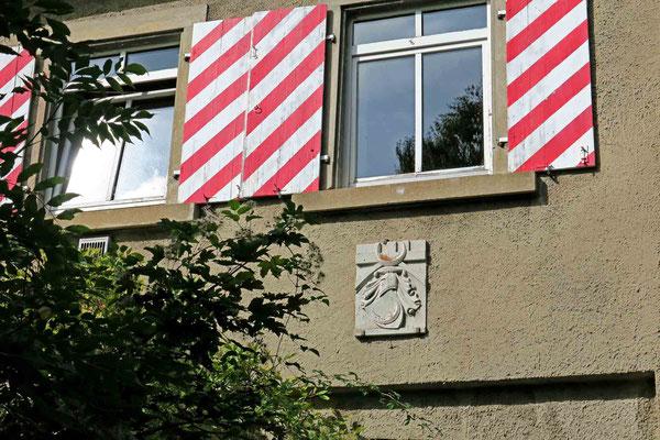 © Traudi - Wappen über dem Torbogen zur Vorburg