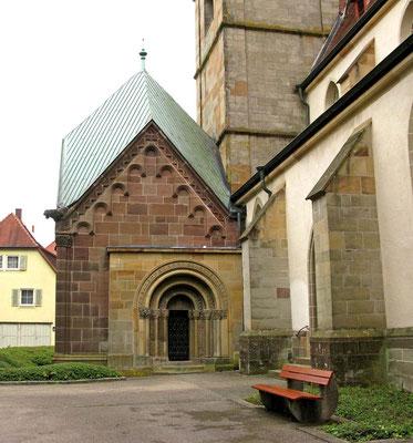 © Traudi - Walterichskapelle, die an die Stadtkirche, der ehemaligen Klosterkirche, angebaut ist