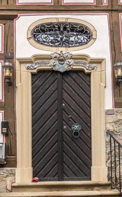 © Traudi - Bürgermeister Elsässer-Haus, Eingangstüre