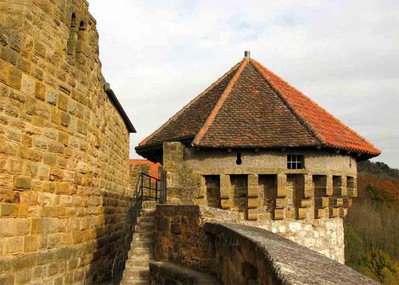 © Traudi *** Werhrturm mit Südmauer