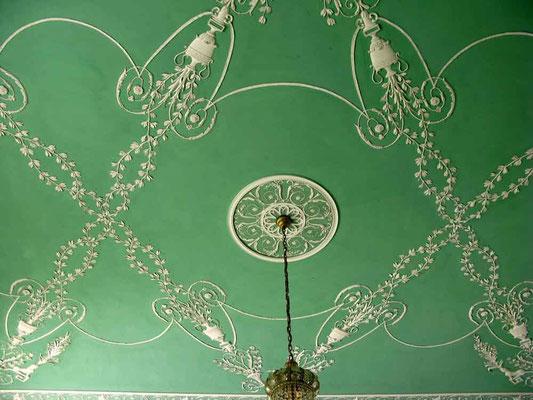 Schloss Hohenheim, Decke eines Lesesaals - © Traudi