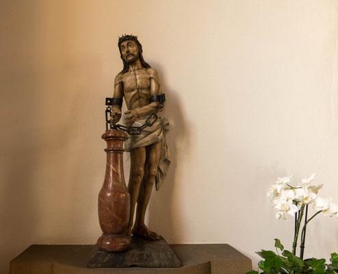 "© Traudi - Die Plastik ""Christus an der Säule"""