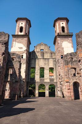 © Traudi - das Innere der Kirchenruine