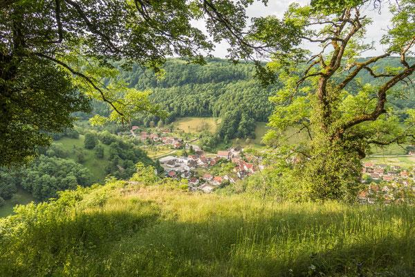 © Traudi - Blick ins Lenninger Tal nach Gutenberg