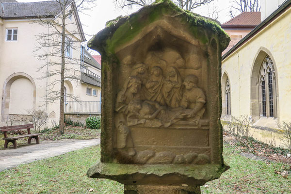 © Traudi – Bildstock im Klostergarten Denkendorf