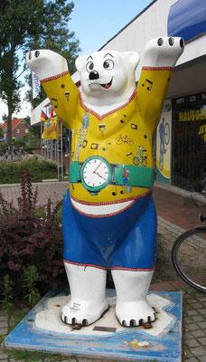 © Traudi – der Uhren- und Fahrrad-Reparatur-Bär