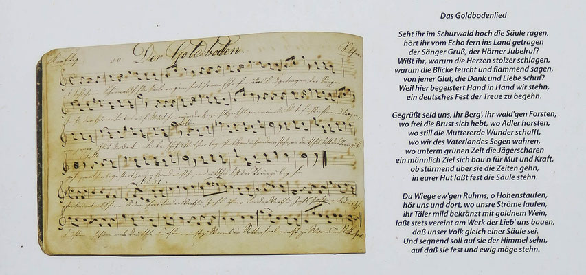 © Traudi - Das Goldbodenlied aus der damaligen Zeit