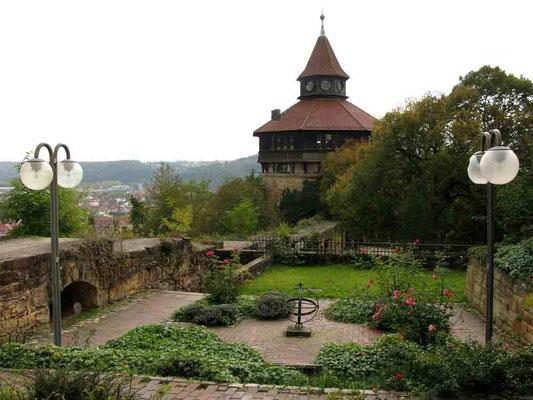 2010 © Traudi *** Dicker Turm mit Ziergarten
