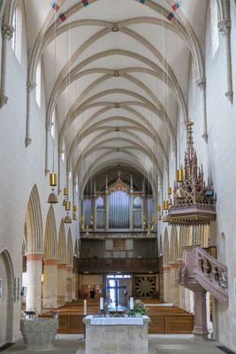 © Traudi - Blick vom Chor zur Empore