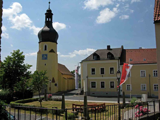 © Traudi – Burg Hohenberg, Dorfkirche