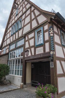 © Traudi - Bürgermeister Elsässer-Haus, Rückseite