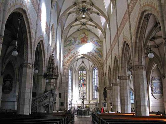 © Traudi   -  Stiftskirche St. Amandus, Innenansicht