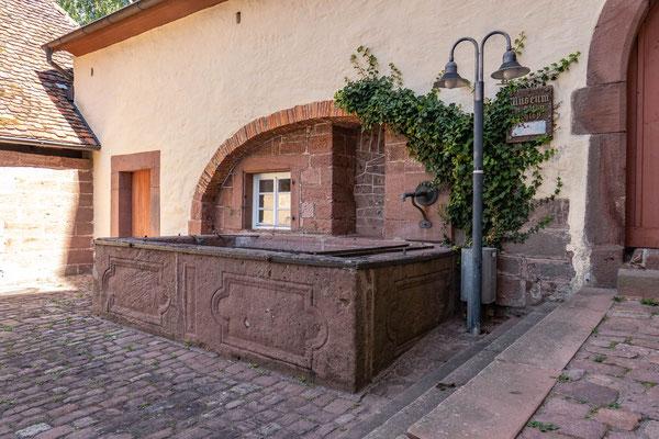 © Traudi - Brunnen in Großheppach