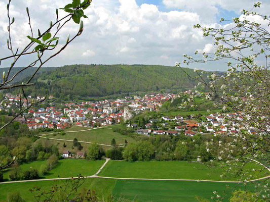 © Traudi  -  Herrlicher Blick nach Blaubeuren