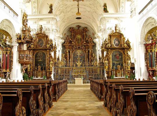 © Traudi -  Kloster Obermarchtal, Klosterkirche