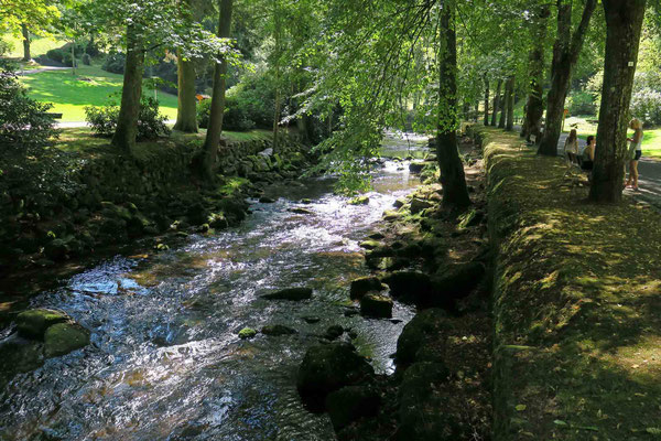 © Traudi - Kurpark in Bad Wildbad. Immer entlang an der Enz