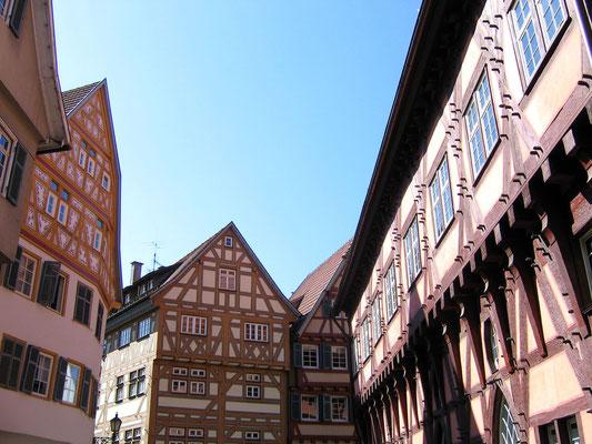 © Traudi - Fachwerkhäuser neben dem Alten Rathaus (re)