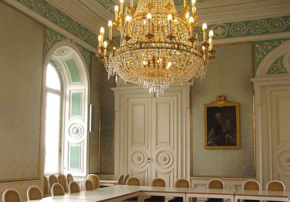 Schloss Hohenheim, Grüner Saal (Schlafzimmer von Carl Eugen, hat aber nie darin geschlafen)  - © Traudi