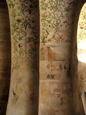 Kloster Denkendorf, Krypta, Wand- und Deckenmalerei - © Traudi