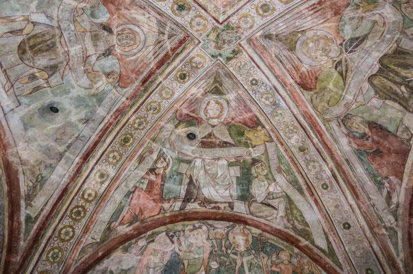 © Traudi - Evangelist Markus. Seine Schriftrolle endet in Löwenkopf und -tatze, was das Symbol für das Königtum Christi ist.