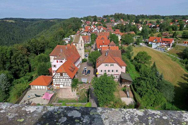 © Traudi - Blick hinunter nach Zavelstein