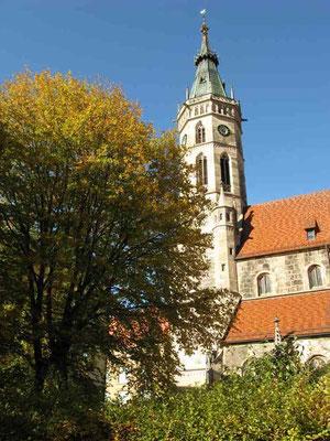 © Traudi   -  Stiftskirche St. Amandus neben dem Schloss  (spätgotischer Stil)