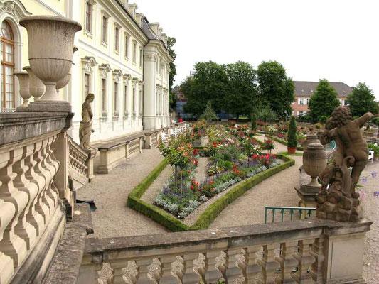 Residenzschloss Ludwigsburg, Blühendes Barock  -  © Traudi
